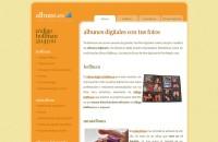 captura de pantalla de Albuns.es