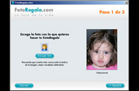 captura de pantalla de FotoRegalo